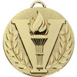 Victory Torch Medal 50mm AM1051